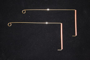 Copper and Brass Dowsing Rods